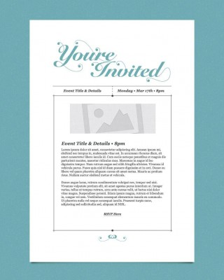 009 Impressive Free Busines Invitation Template For Word Highest Clarity 320