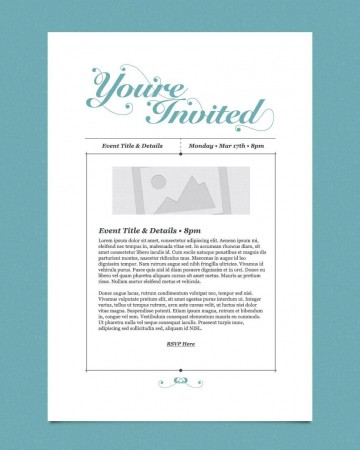 009 Impressive Free Busines Invitation Template For Word Highest Clarity 360