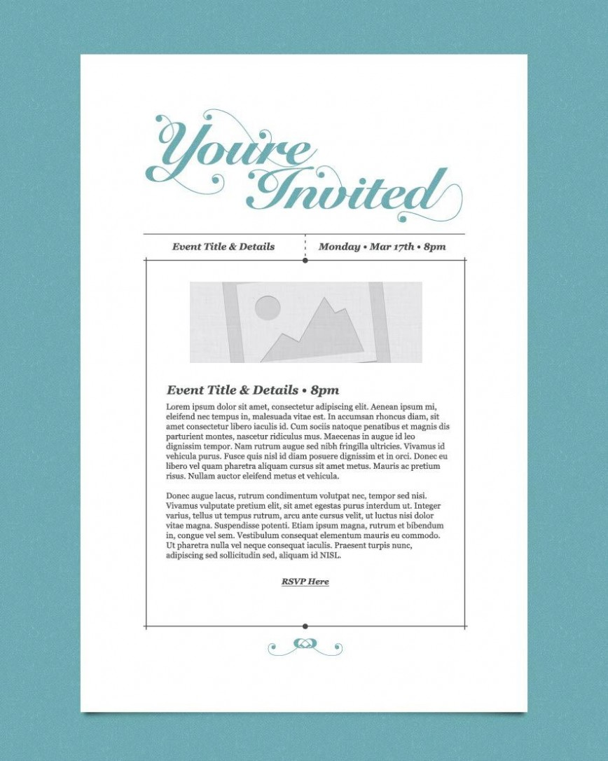 009 Impressive Free Busines Invitation Template For Word Highest Clarity 868