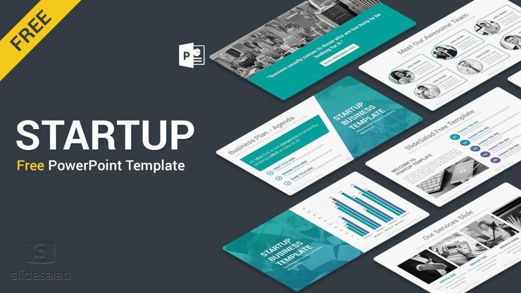 009 Impressive Free Busines Plan Template Ppt Sample  2020 Download Startup 30 60 90Large