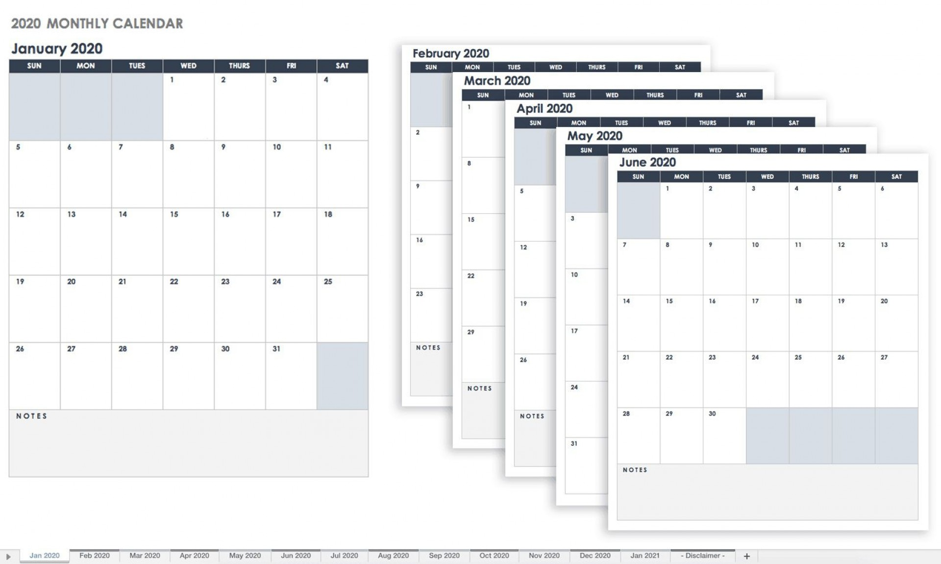 009 Impressive Free Calendar Template Excel Highest Clarity  Monthly 2020 Perpetual 20191920