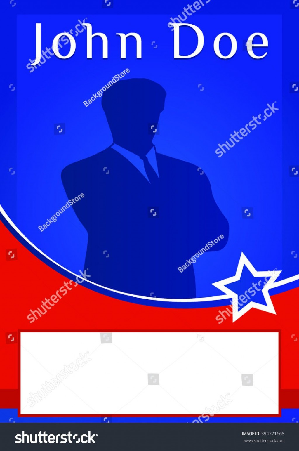 009 Impressive Free Campaign Poster Template Download Photo Large