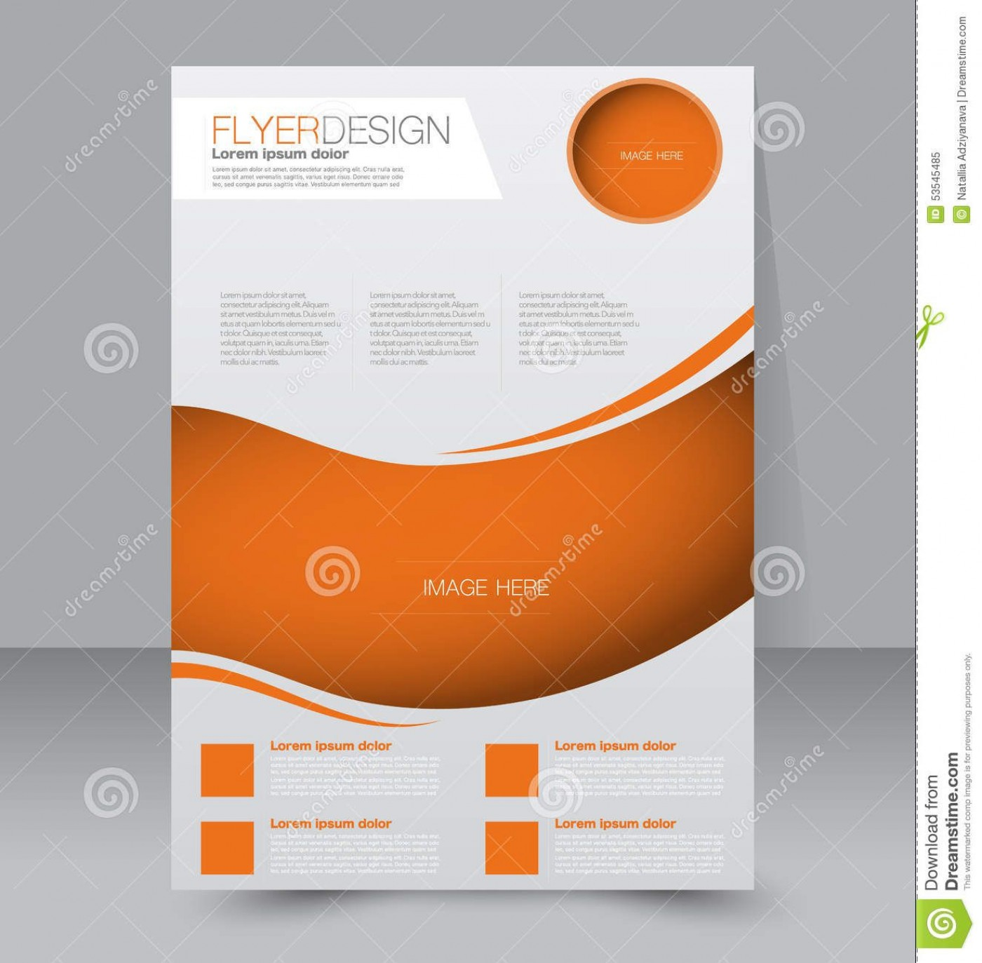 009 Impressive Free Editable Flyer Template High Definition  Busines Fundraising1400