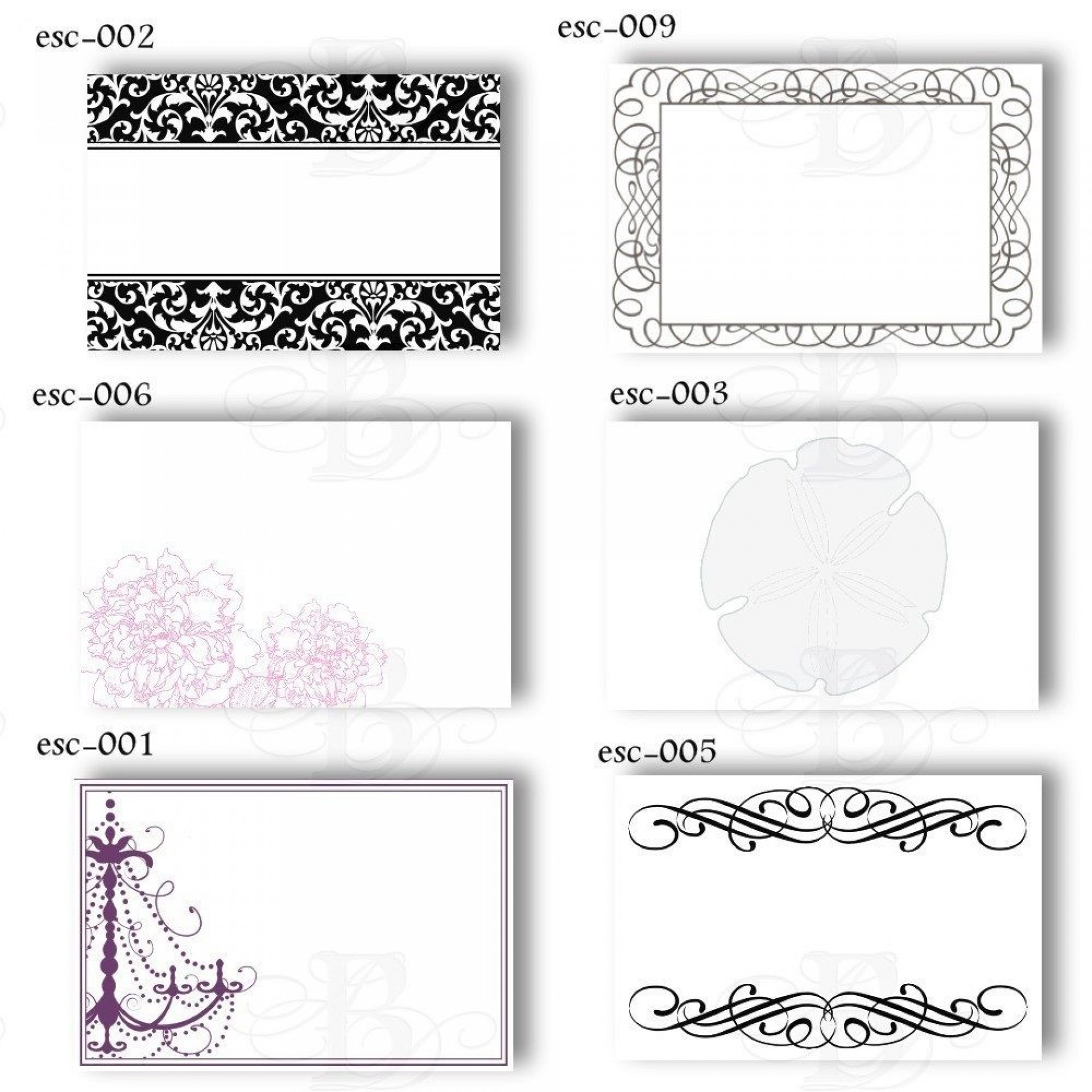 009 Impressive Free Table Name Place Card Template Sample  Placement1920