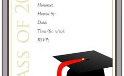 009 Impressive Graduation Party Invitation Template Picture  Templates 4 Per Page Free Reception