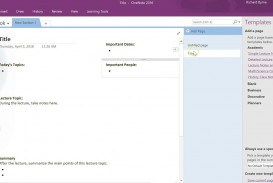 009 Impressive Microsoft Onenote Project Management Template Idea