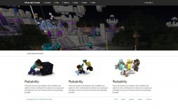 009 Impressive Minecraft Website Template Html Free Download High Def