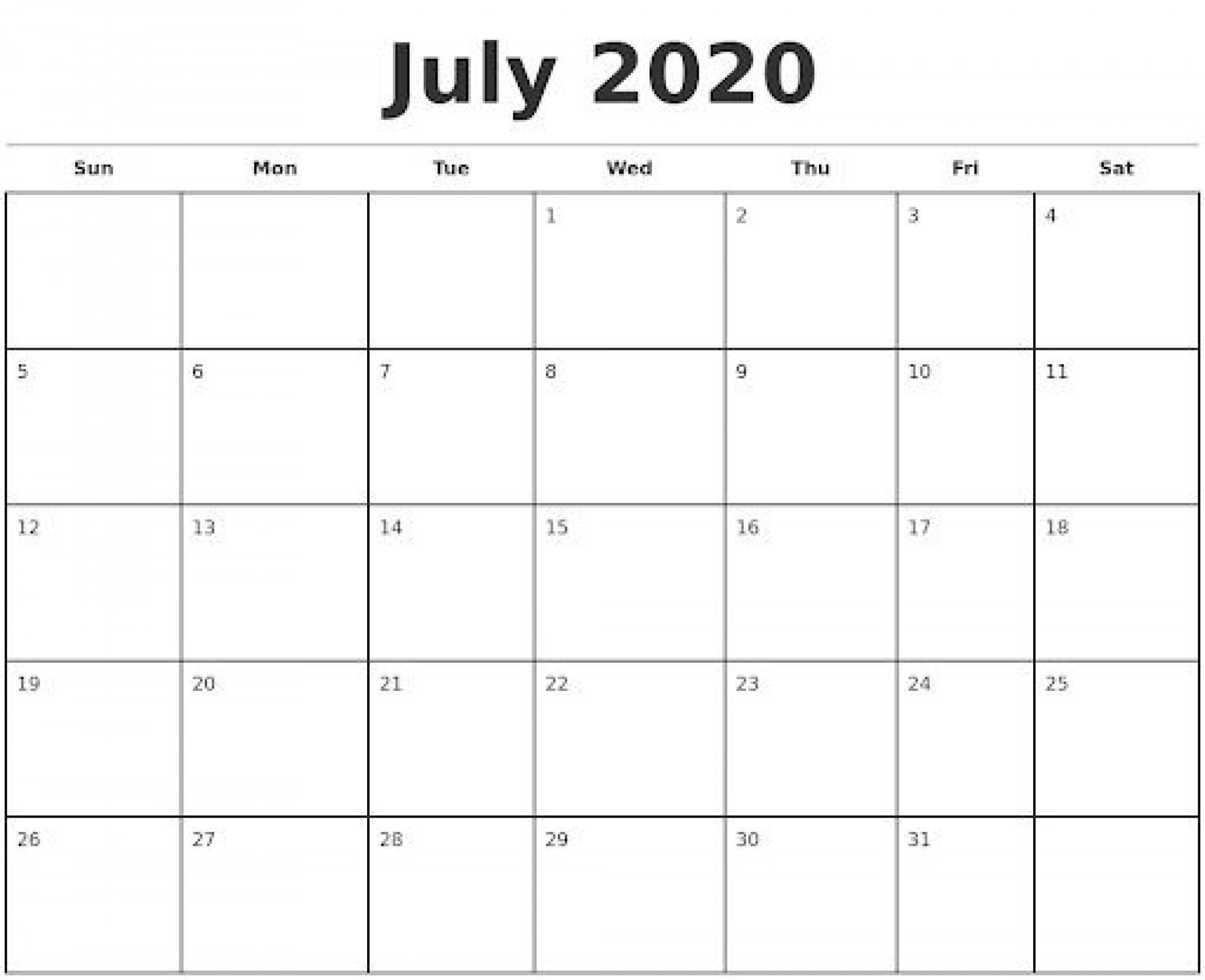 009 Impressive Monthly Calendar Template 2020 Image  Editable Free Word Excel May1920