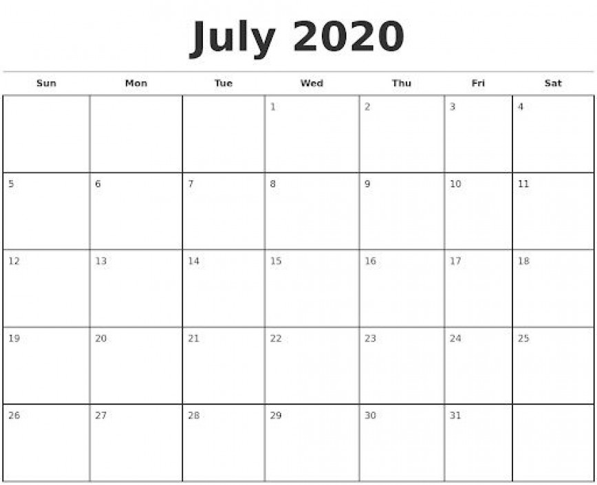 009 Impressive Monthly Calendar Template 2020 Image  Word With Holiday Microsoft Excel