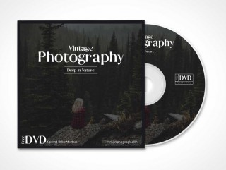 009 Impressive Music Cd Cover Design Template Free Download Example 320