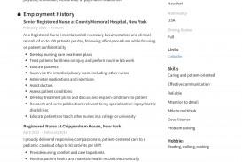 009 Impressive New Rn Resume Template High Resolution
