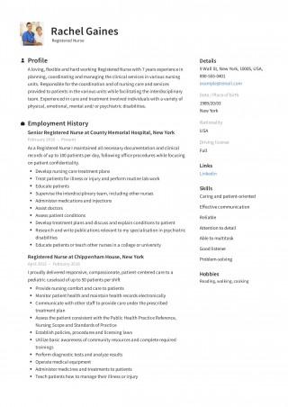 009 Impressive New Rn Resume Template High Resolution 320