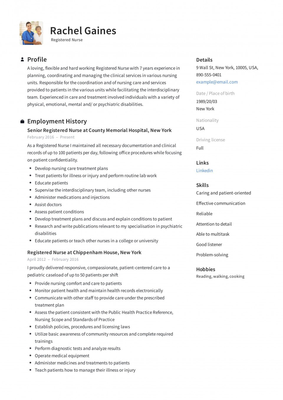 009 Impressive New Rn Resume Template High Resolution 960