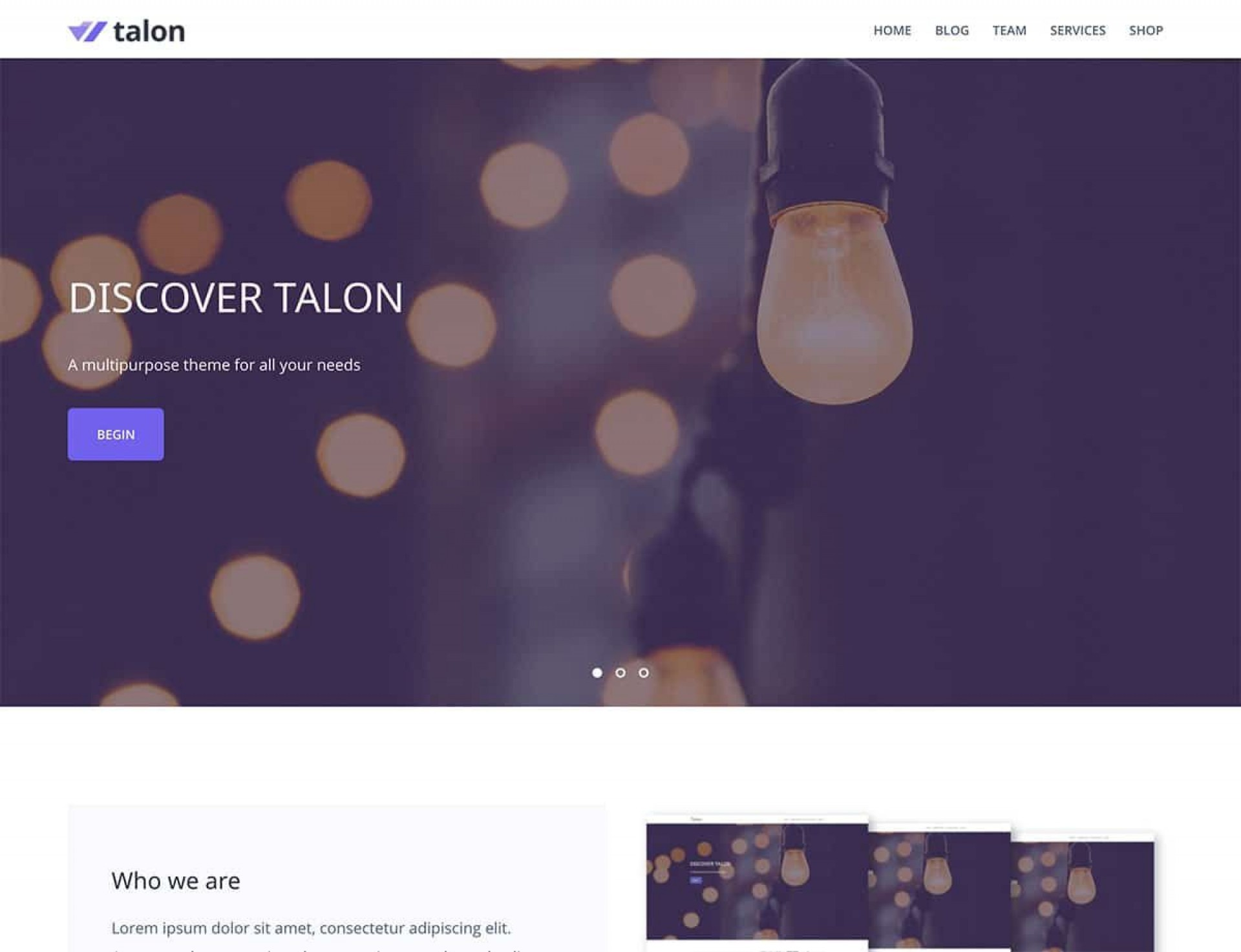 009 Impressive One Page Website Template Free Download Wordpres Highest Quality  Wordpress1920