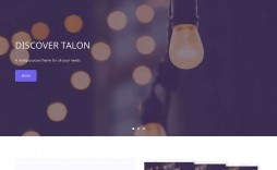 009 Impressive One Page Website Template Free Download Wordpres Highest Quality  Wordpress