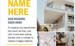 009 Impressive Open House Flyer Template Free Example  Microsoft Word School Christma