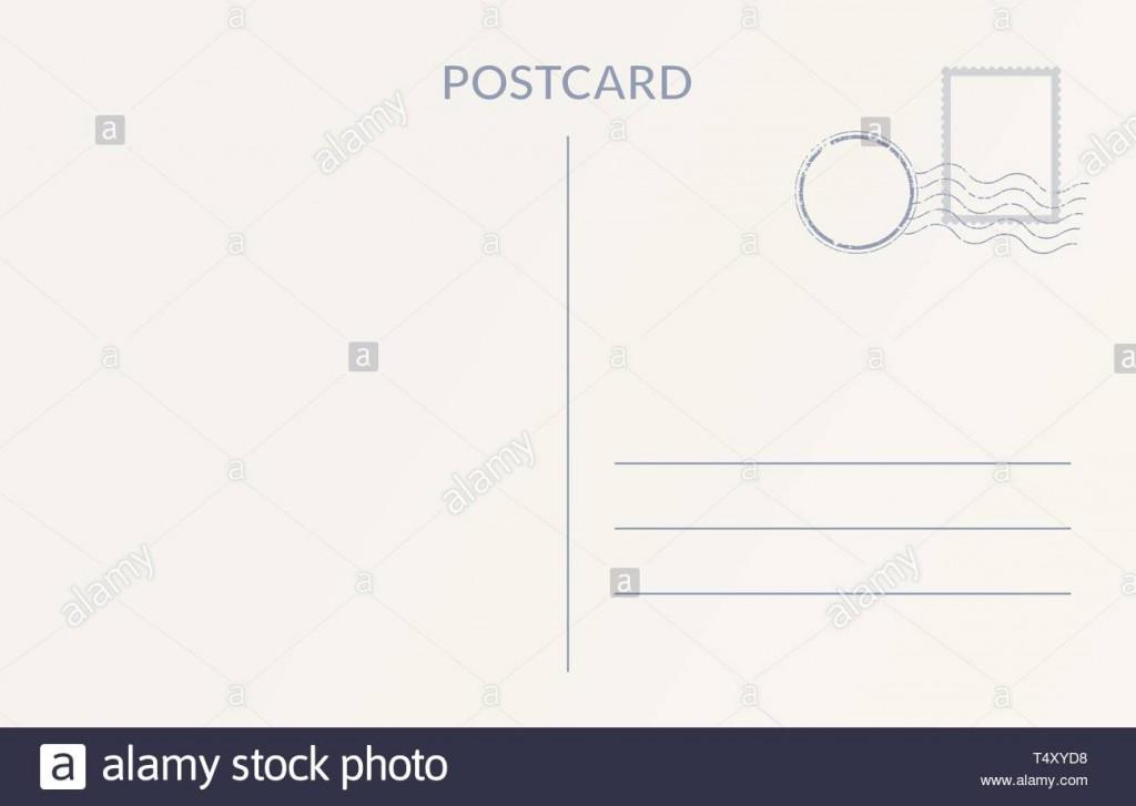 009 Impressive Postcard Template Front And Back Design  Free WordLarge