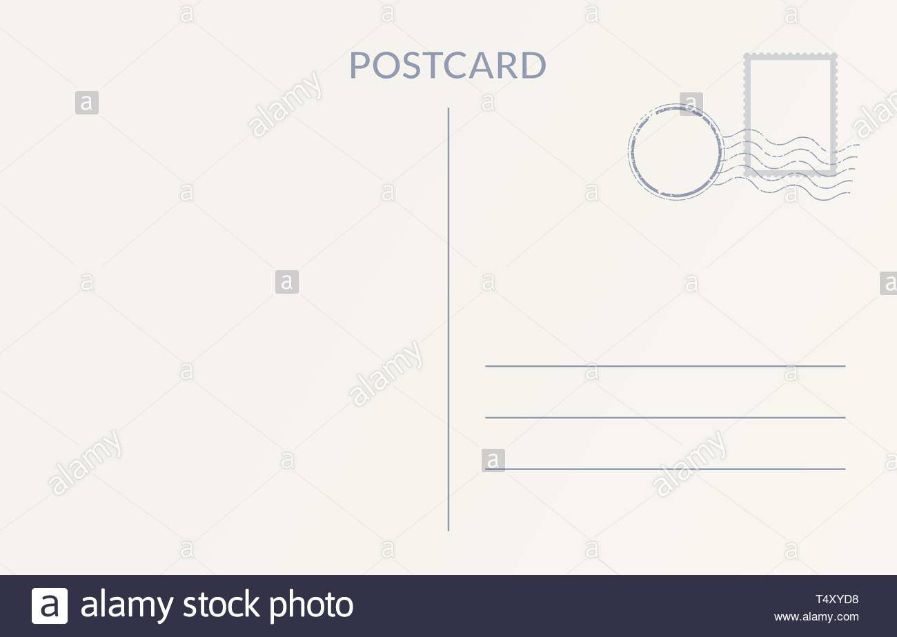 009 Impressive Postcard Template Front And Back Design  Free WordFull