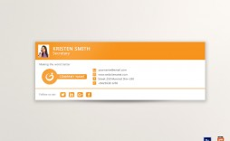 009 Impressive Professional Email Signature Template Highest Quality  Download Free Html