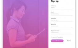 009 Impressive Registration Form Template Free Highest Quality  Printable Event Sample