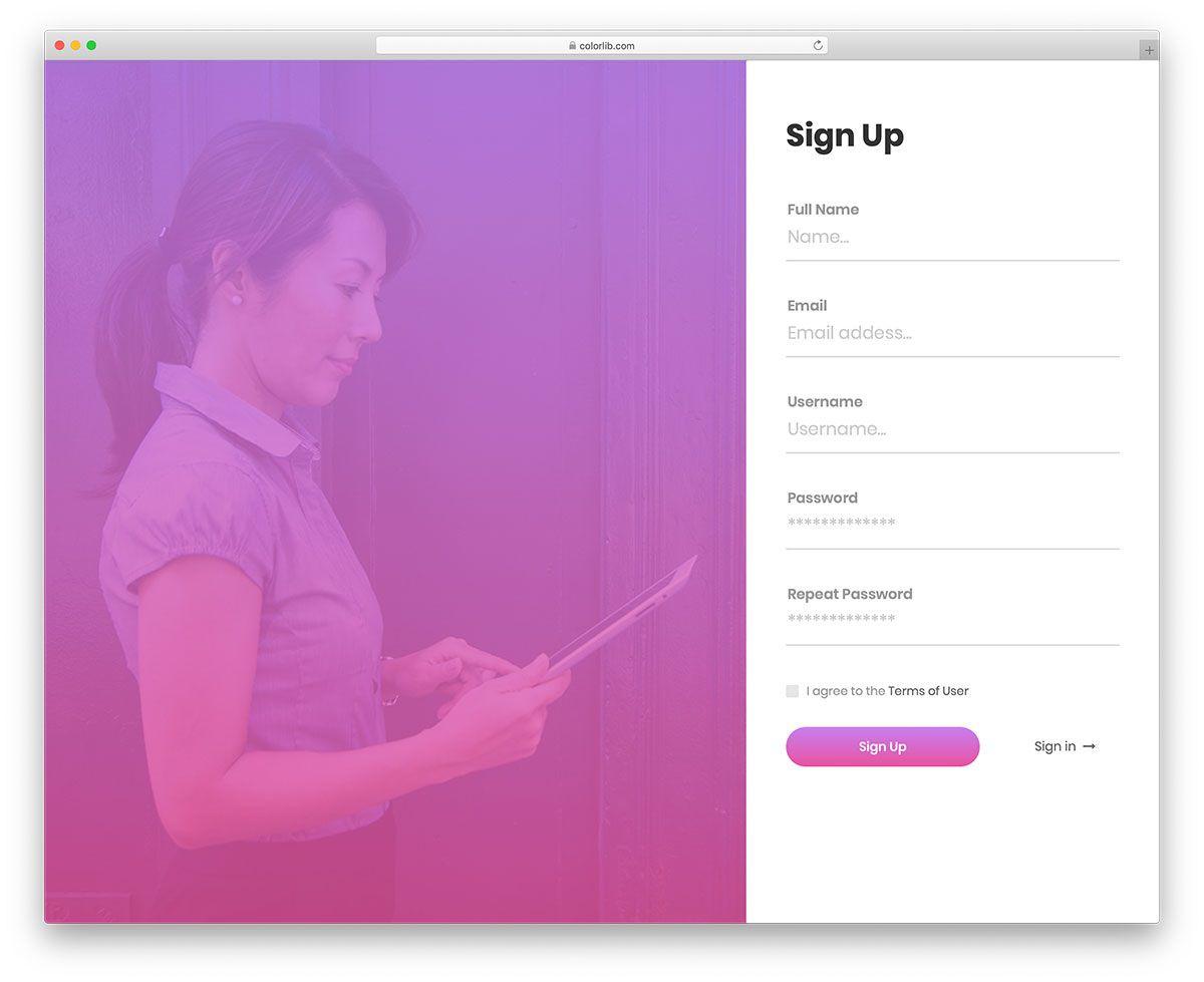 009 Impressive Registration Form Template Free Highest Quality  Printable Event SampleFull