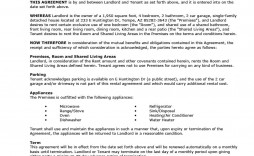 009 Impressive Rental House Contract Template Free Sample  Agreement Form Property Lease