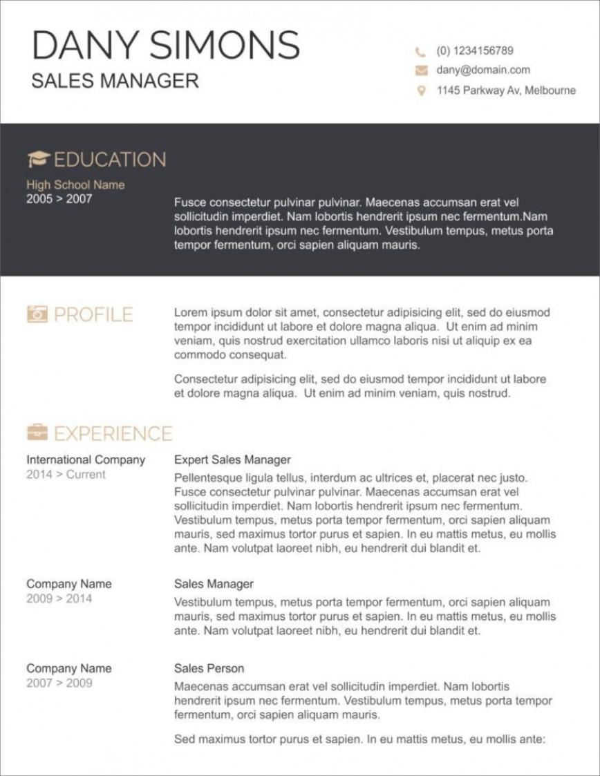 009 Impressive Resume Sample Free Download Doc Concept  Resume.doc For Fresher868