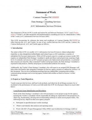 009 Impressive Sample Statement Of Work Consulting Service Highest Quality 320