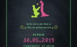 009 Impressive Sample Wedding Invitation Template Free Download Concept  Wording