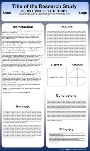 009 Impressive Scientific Poster Design Template Free Download Example Full