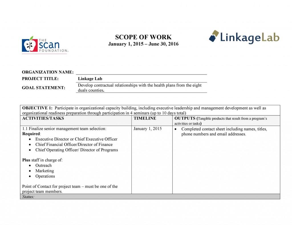 009 Impressive Scope Of Work Template Picture  Microsoft Word Web Development Example ConsultingLarge