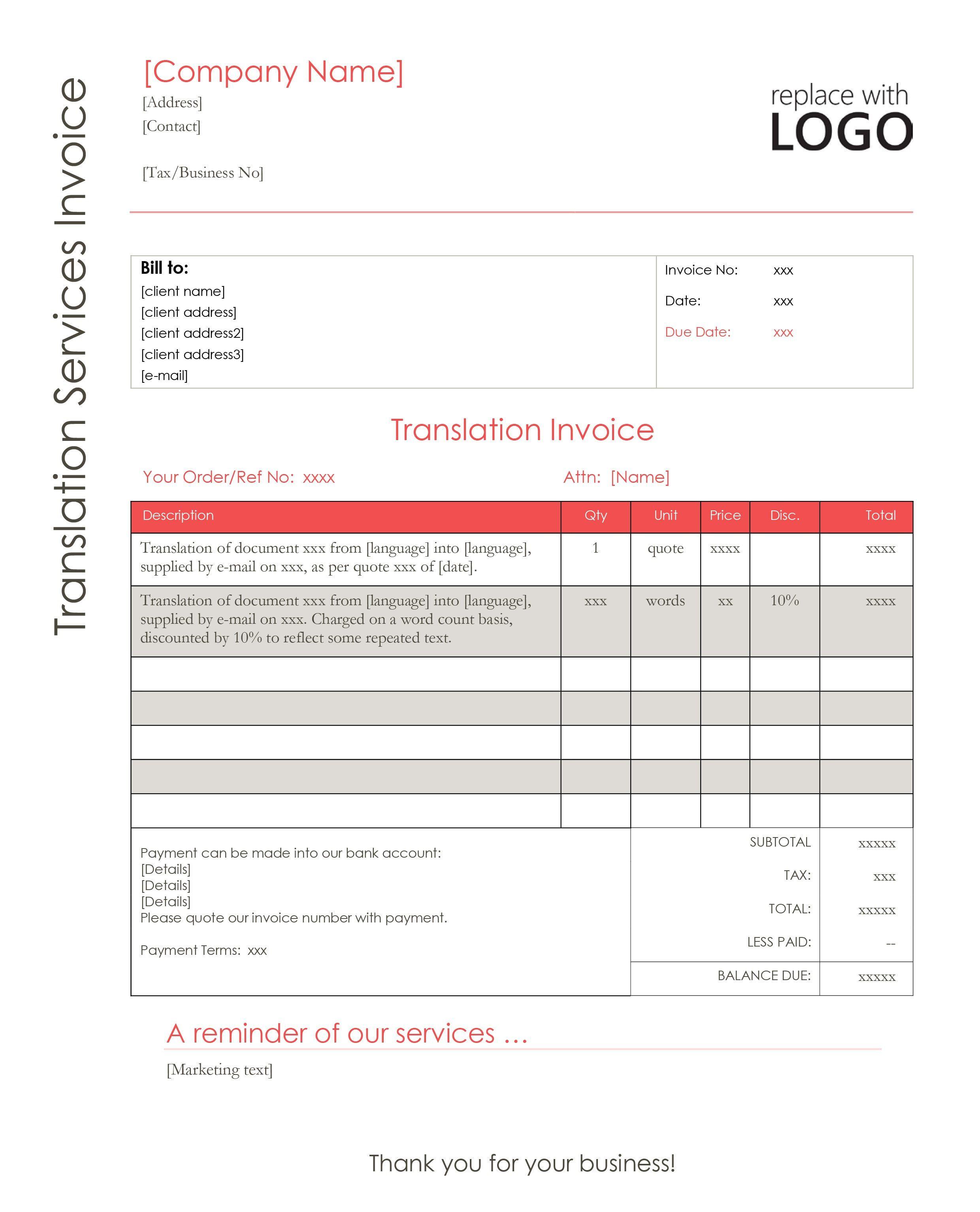 009 Impressive Self Employed Invoice Template Uk Pdf Image Full