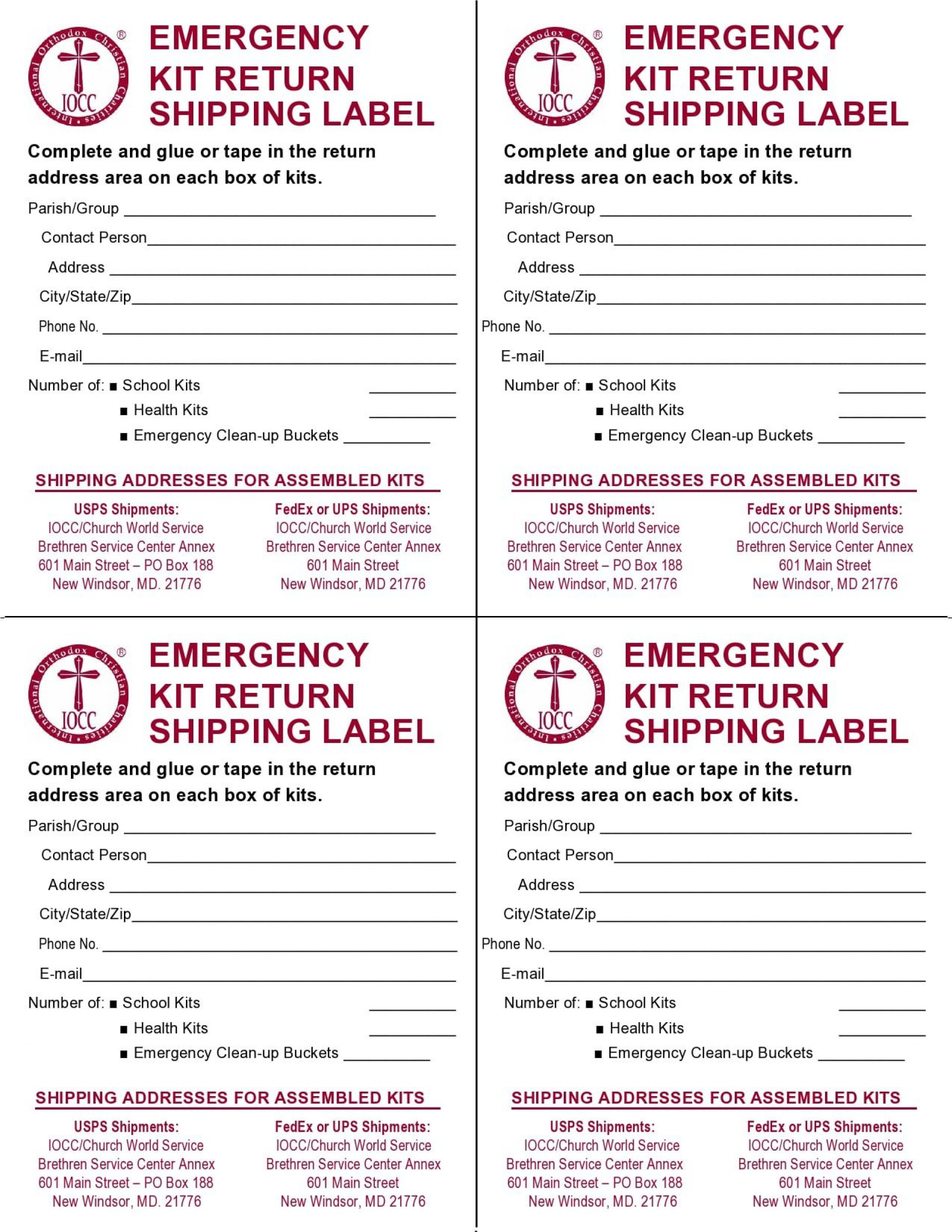 009 Impressive Shipping Label Template Free Word Picture 1920