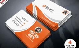 009 Impressive Simple Visiting Card Design Concept  Busines Idea Psd File Free Download