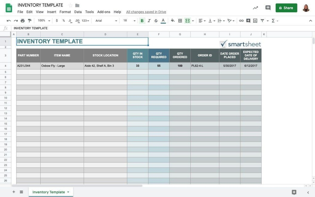 009 Impressive Small Busines Inventory Spreadsheet Template Concept  PdfLarge