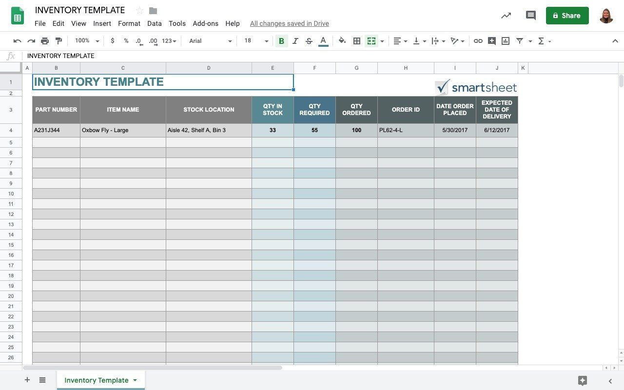 009 Impressive Small Busines Inventory Spreadsheet Template Concept  PdfFull