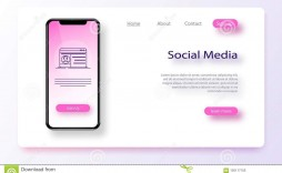 009 Impressive Social Media Web Template Example  Templates Best Website Free Download