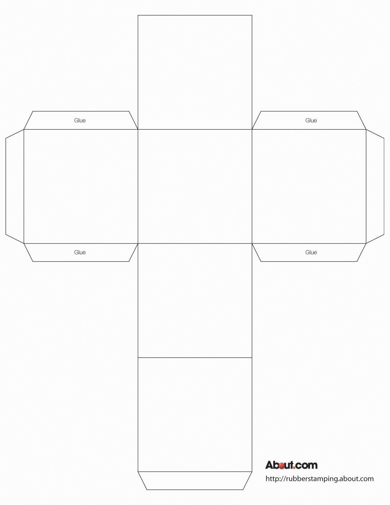 009 Impressive Square Box Template Free Printable Inspiration Full