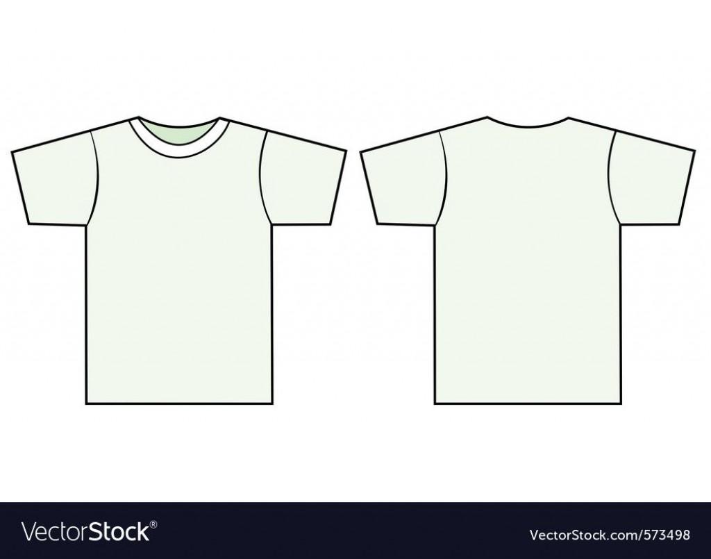 009 Impressive T Shirt Template Vector Idea  Black Front And Back Free Download IllustratorLarge