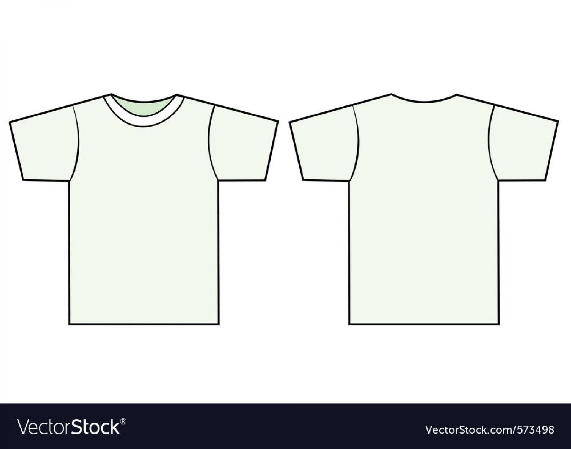 009 Impressive T Shirt Template Vector Idea  Black Front And Back Free Download Illustrator1920