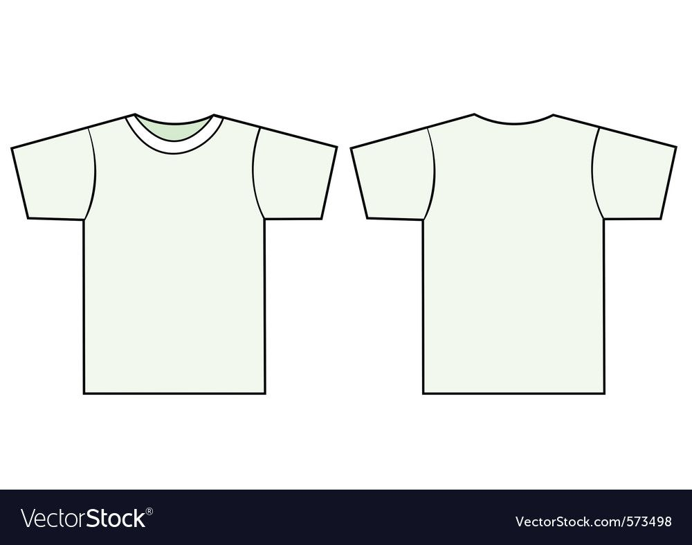 009 Impressive T Shirt Template Vector Idea  Black Front And Back Free Download IllustratorFull