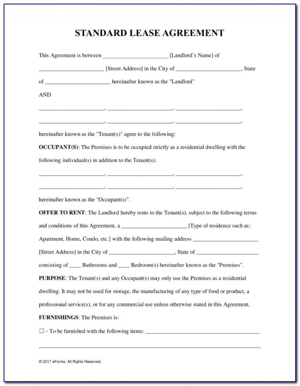 009 Impressive Tenancy Agreement Template Word Free Example  Document Uk PdfLarge