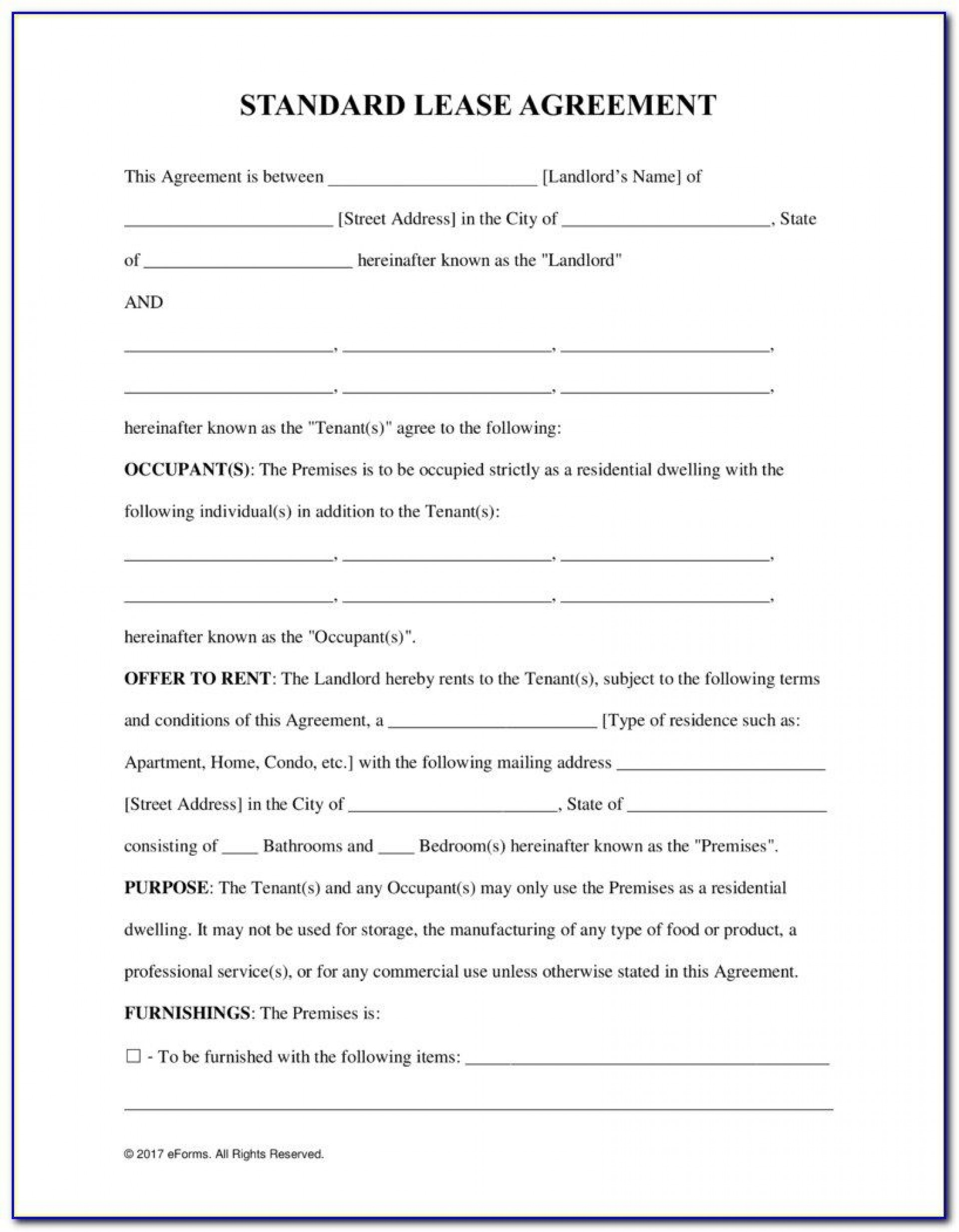 009 Impressive Tenancy Agreement Template Word Free Example  Document Uk Pdf1920