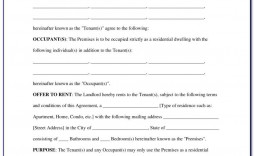 009 Impressive Tenancy Agreement Template Word Free Example  Document Uk Pdf