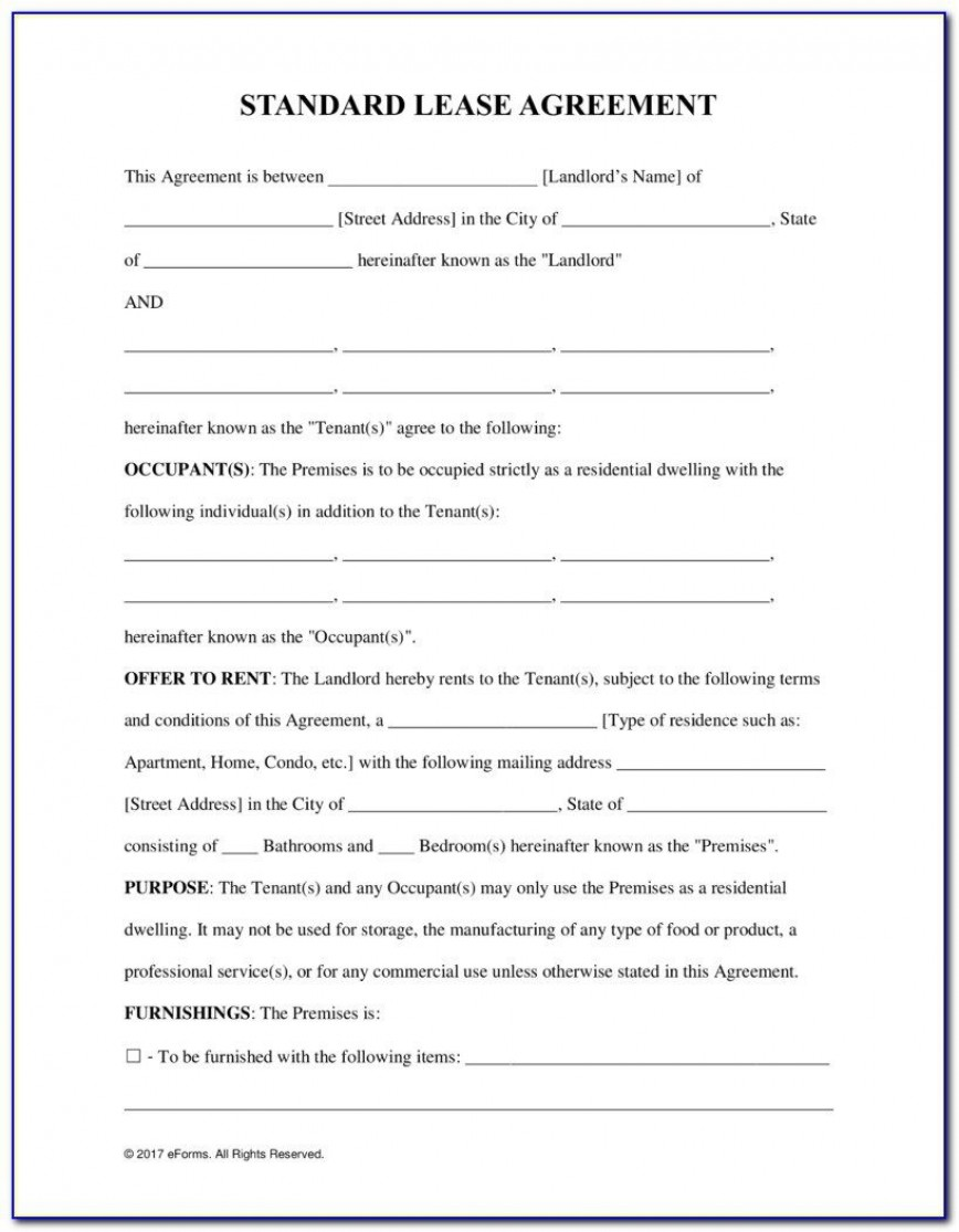 009 Impressive Tenancy Agreement Template Word Free Example  Uk 2020 Rental Doc Lease868