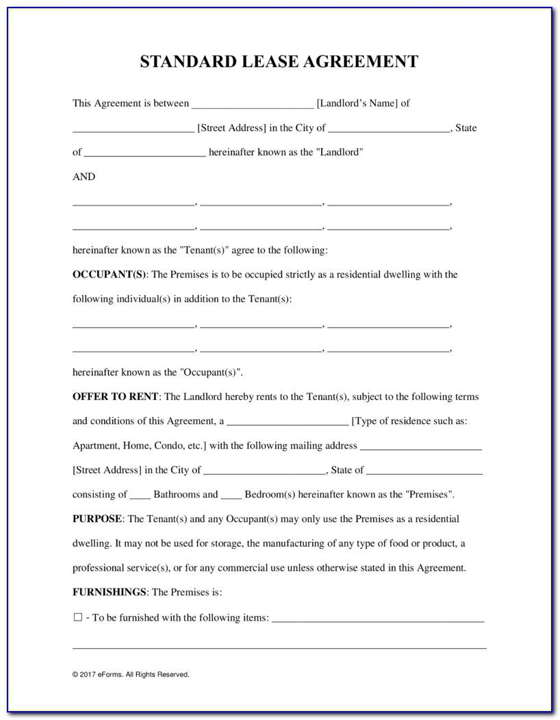 009 Impressive Tenancy Agreement Template Word Free Example  Document Uk PdfFull