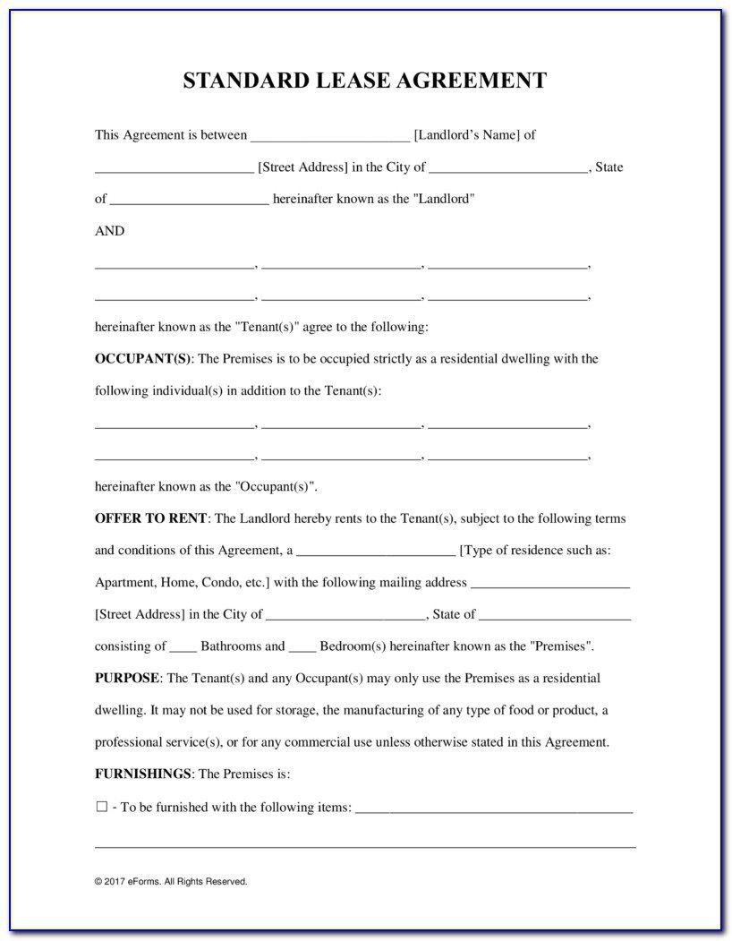 009 Impressive Tenancy Agreement Template Word Free Example  Uk 2020 Rental Doc LeaseFull