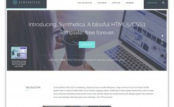 009 Impressive Website Template Html Cs Javascript Free Download Sample  With Jquery Responsive Code