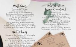 009 Impressive Wedding Order Of Service Template High Def  Church Free Microsoft Word Download