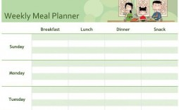 009 Impressive Weekly Meal Planner Template Excel Highest Quality  Downloadable Plan Editable